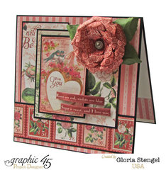Graphic 45 Time To Flourish February Card 2