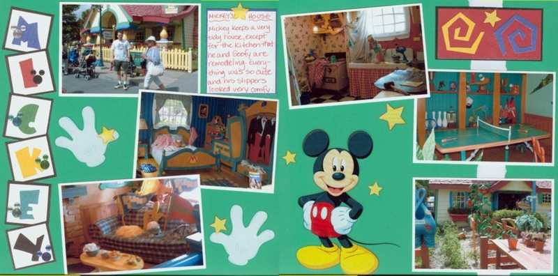 Mickey Mouse House