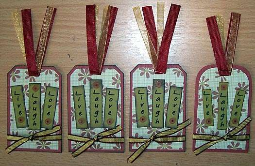 Chatterbox Cabin tags