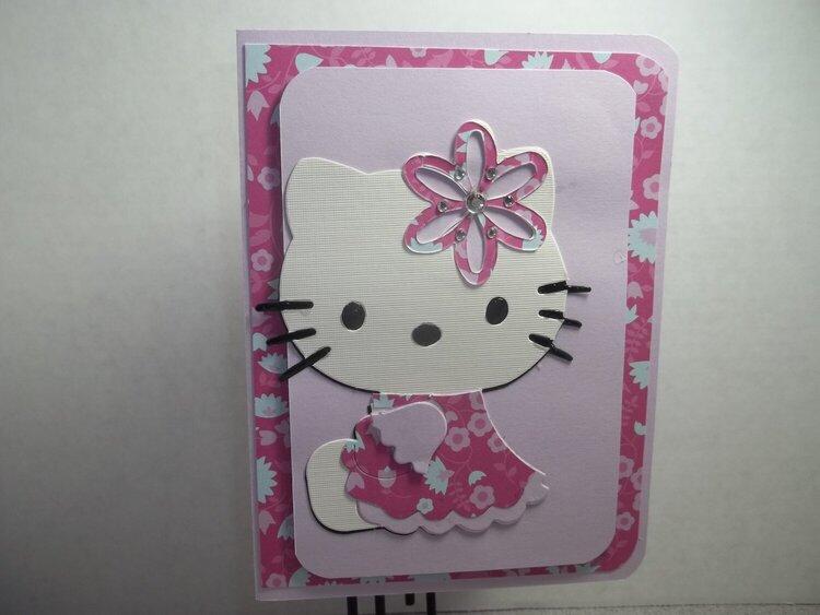 Hello Kitty Card 2
