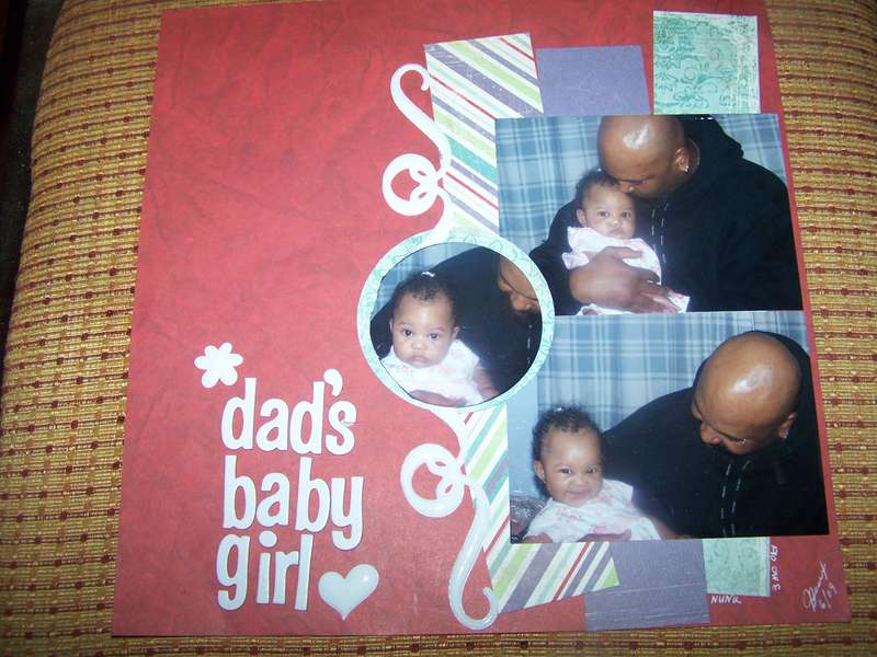 DAD'S BABY GIRL