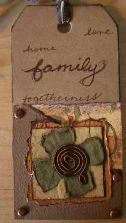 Family tag - version 2