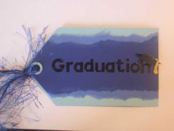graduation tag for Danica