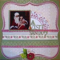 A visit with Santa????