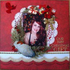 Our 1989 Christmas Gift