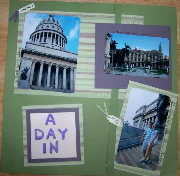 A Day in Havana - pg 1