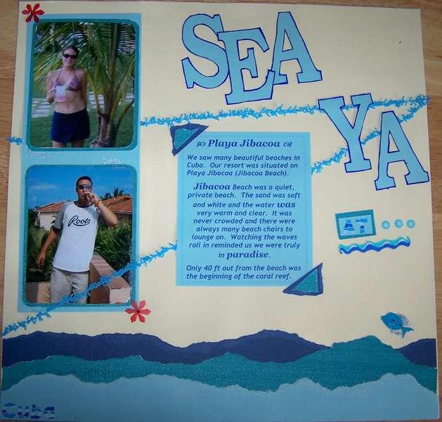 Sea Ya at the Beach - Pg 1