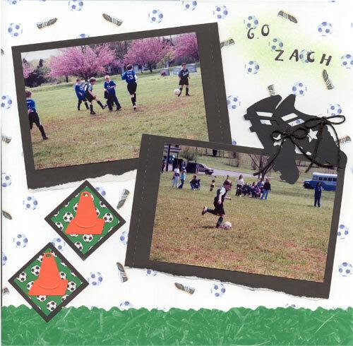 Zach's Soccer Game