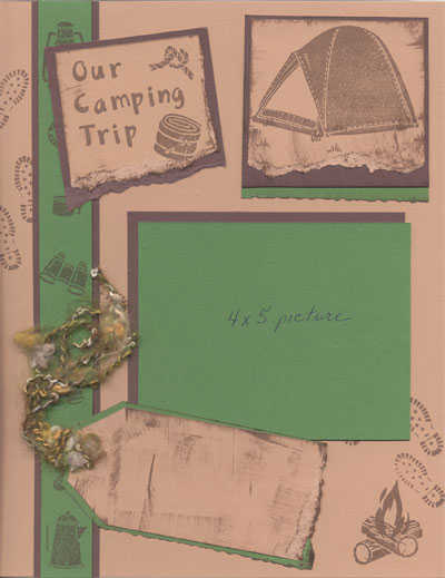 Scout's Camping Trip