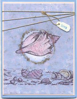 Sea Shell Greeting