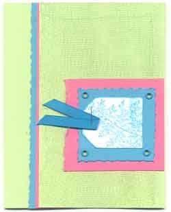 Quik-e Note card