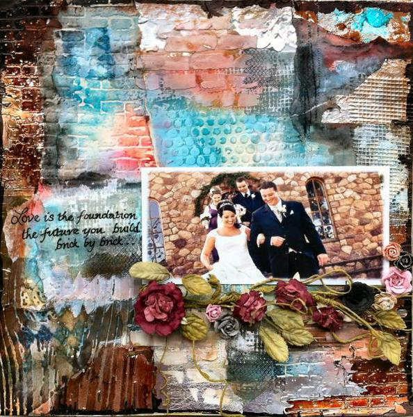 Swirlydoos Ultimate Challenge - week 3 - Love is the foundation
