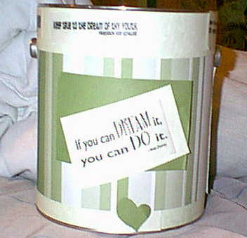 Paint Can my SN sent me