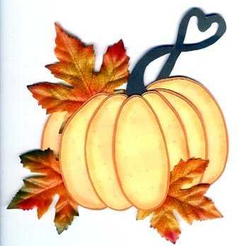 Pumpkin Paper Piecing