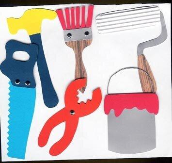 Tools Paper Piecings