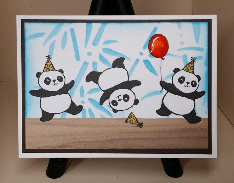 Stampin' Up! Party Pandas