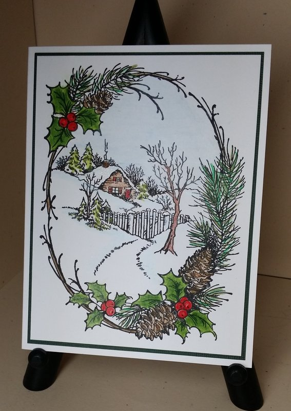 Stampendous Christmas Cottage
