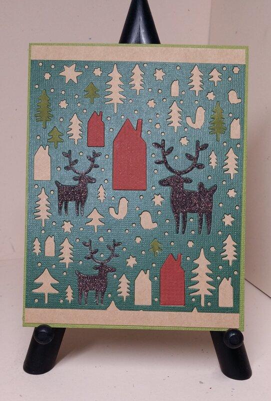 Tim Holtz/Sizzix Nordic Winter Die