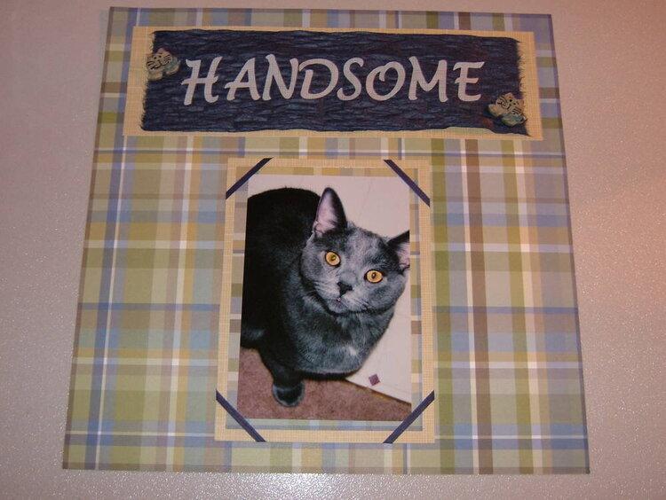 H - Handsome 1