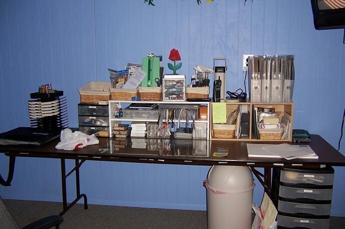 My scrap table