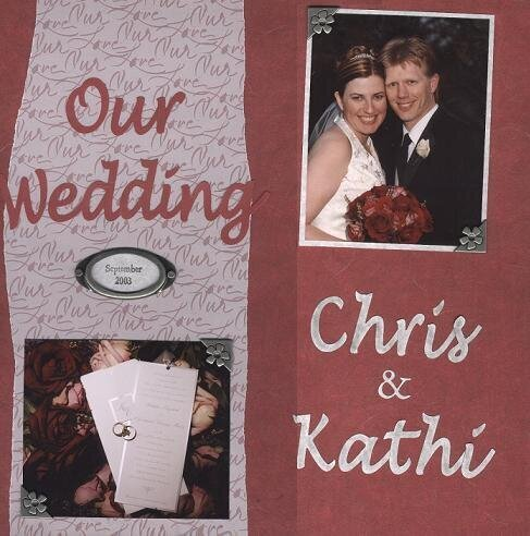 Our Wedding - Title Page