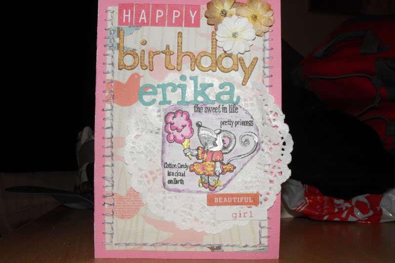Happy Birthday Erika