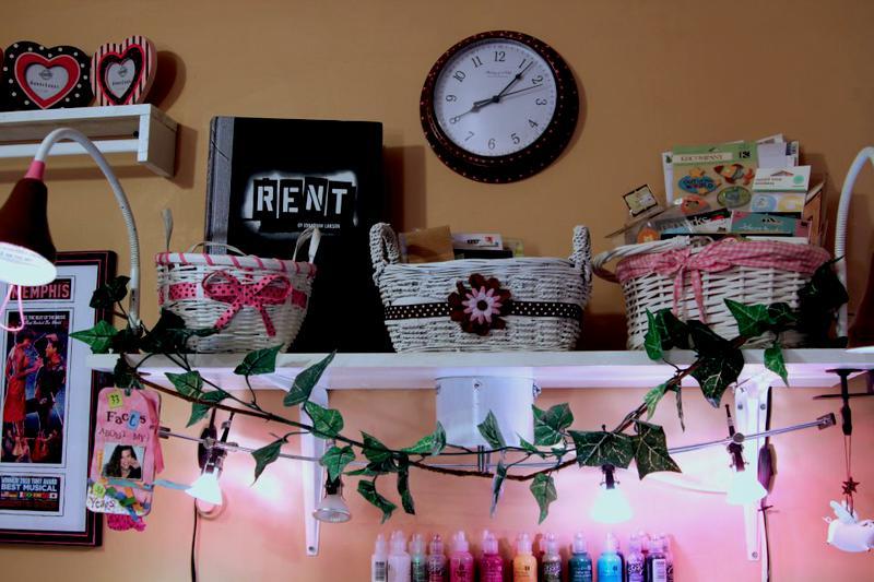 Shelf above my desk