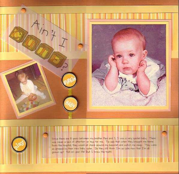 my baby pictures