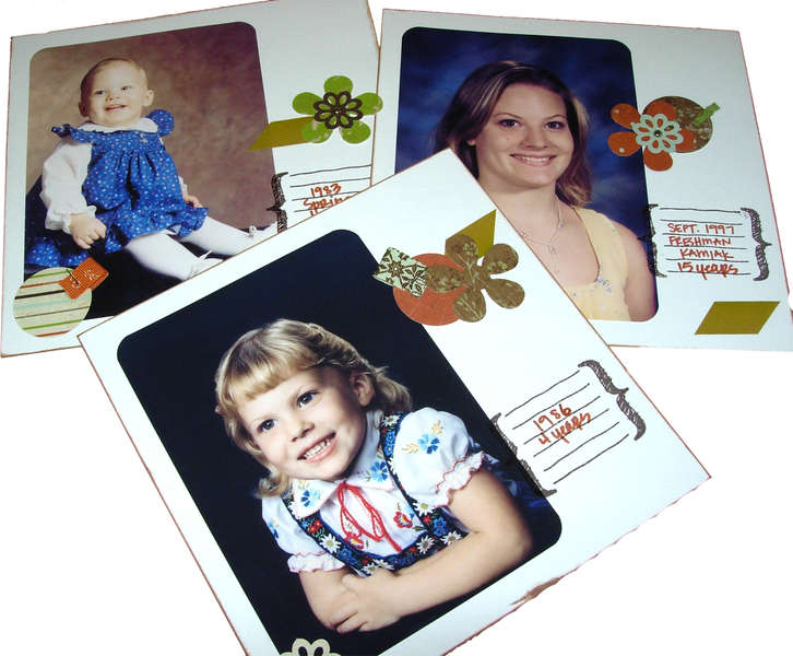 Inner Pages - Fathers' Day Present (33 total portraits)