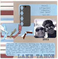 Lake Tahoe - 21st Birthday
