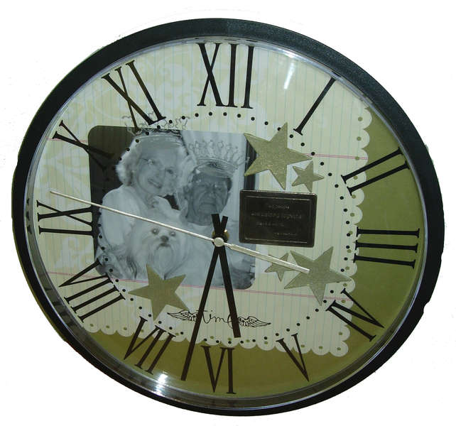 Stars and Crowns Altered Clock