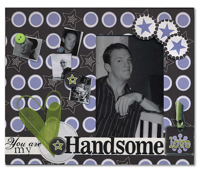 Handsome Love Frame