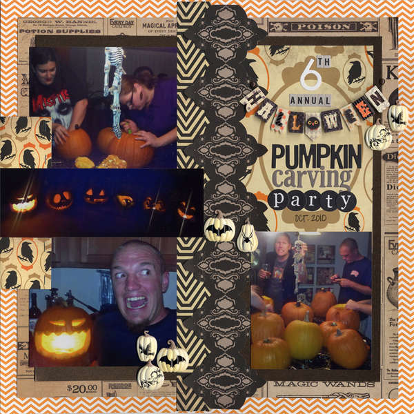6th Annual Halloween Pumpkin Carving Party