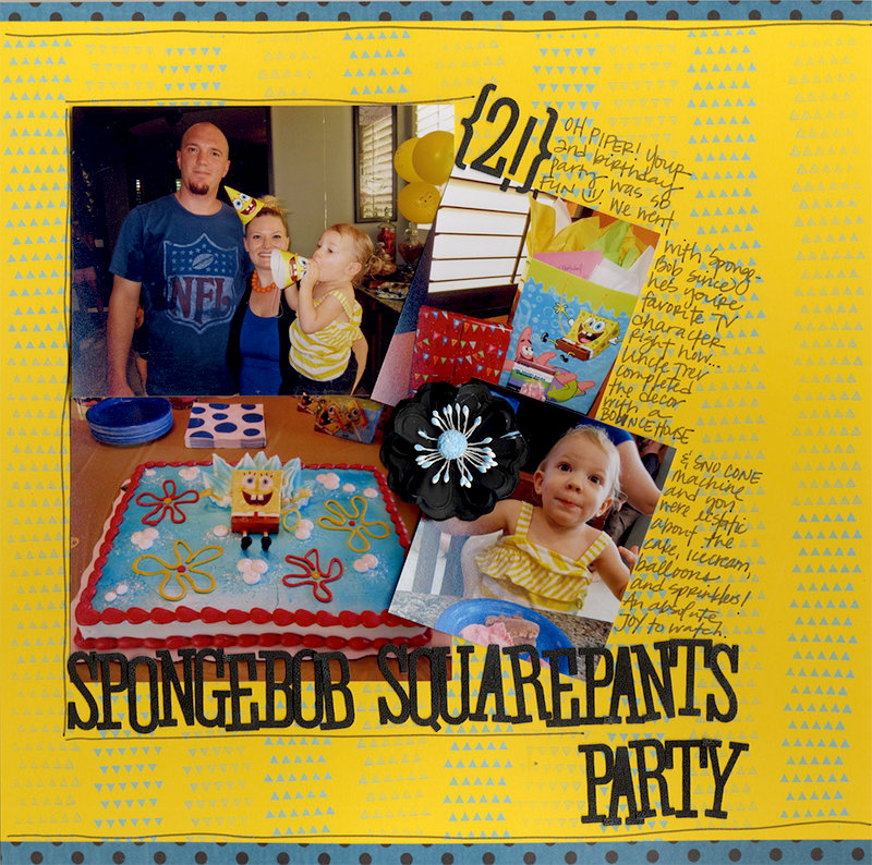 Spongebob Squarepants Party