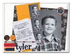 Tyler in Preschool