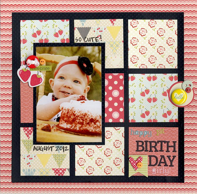 Happy 1st Birthday Girly!