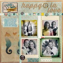 happy & in love