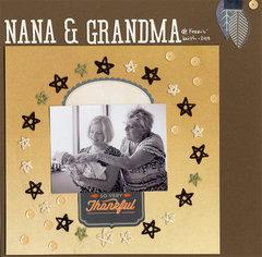 Thankful for Nana & Grandma