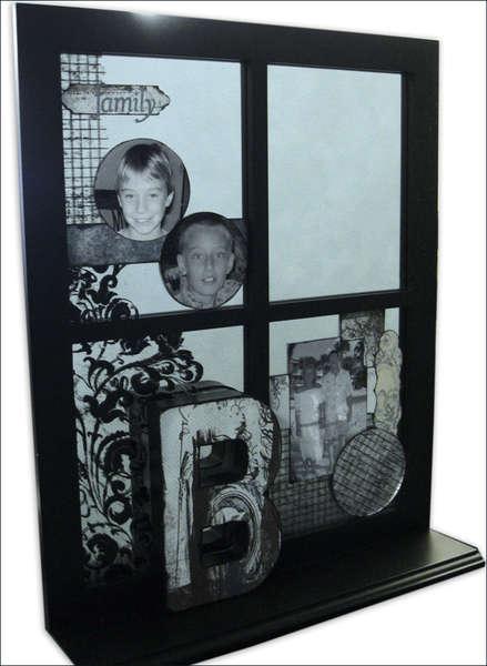 """B"" Family Window/Mirror Decor"