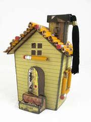 School Themed Doodlebug Mini House