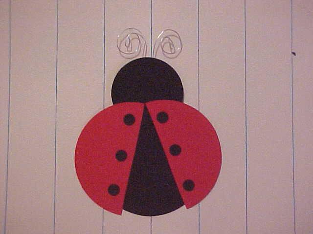 Lady Bug Paper Piecing