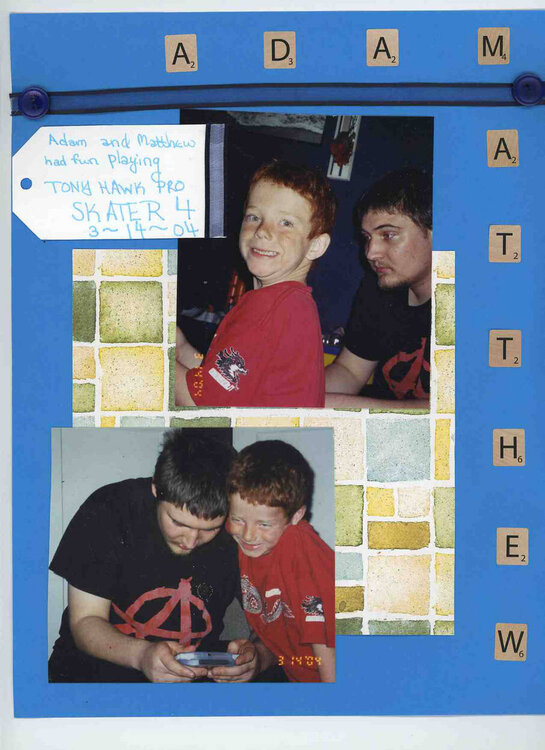 Adam and Matthew Page 2