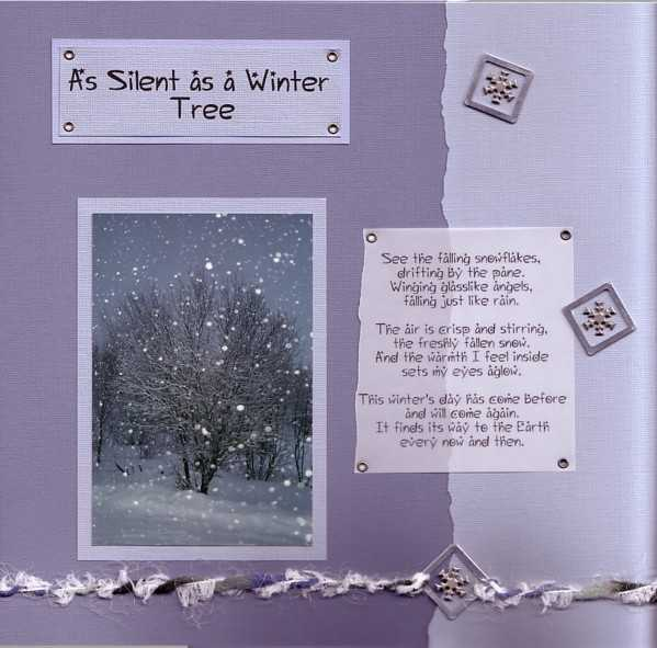 As Silent as a Winter Tree