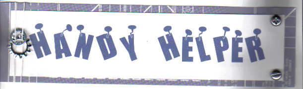 Handy Helper title/Toddler boy swap