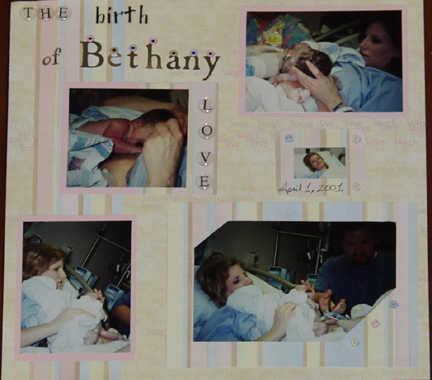 Bethany Birth 2