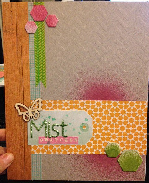 Mist Swatch Journal