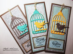 Bird Cage Cards