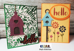 Bird House Cards