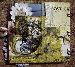 Maine Acrylic Album back Cover