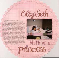 Elizabeth Birth of a Princess